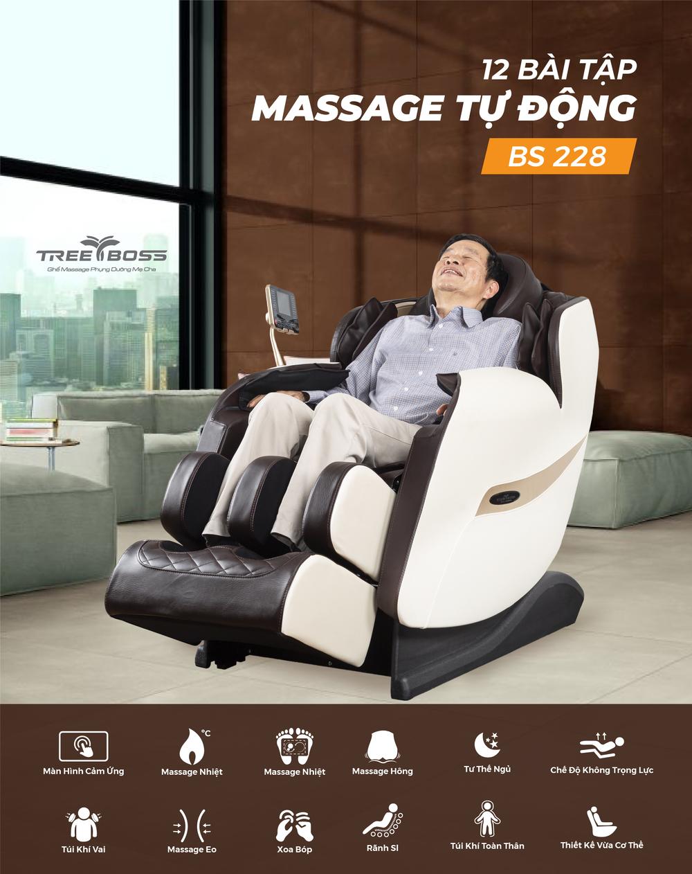 hướng dẫn sử dụng bảng điều khiển ghế massage