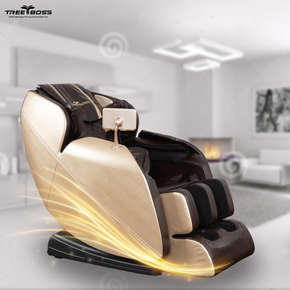 kết nối bluetooth với ghế massage