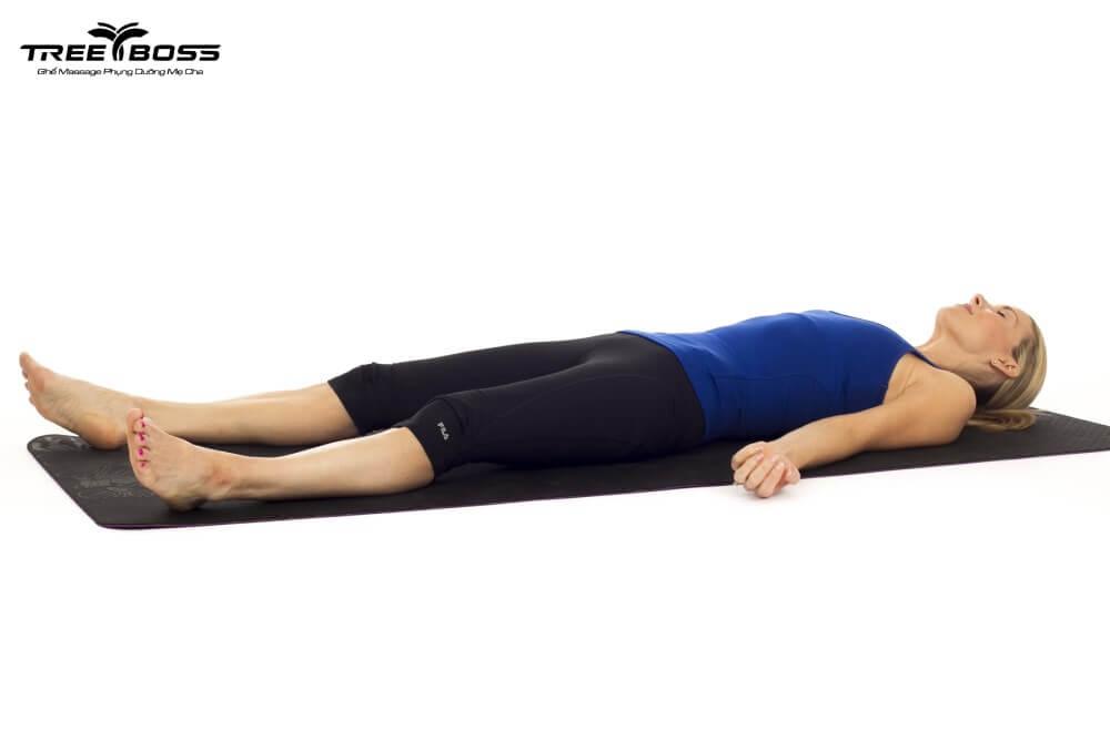 bài tập giãn cơ bắp chân