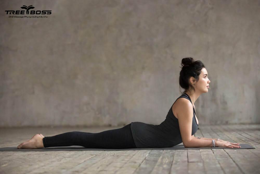 bài tập yoga đau mỏi vai gáy