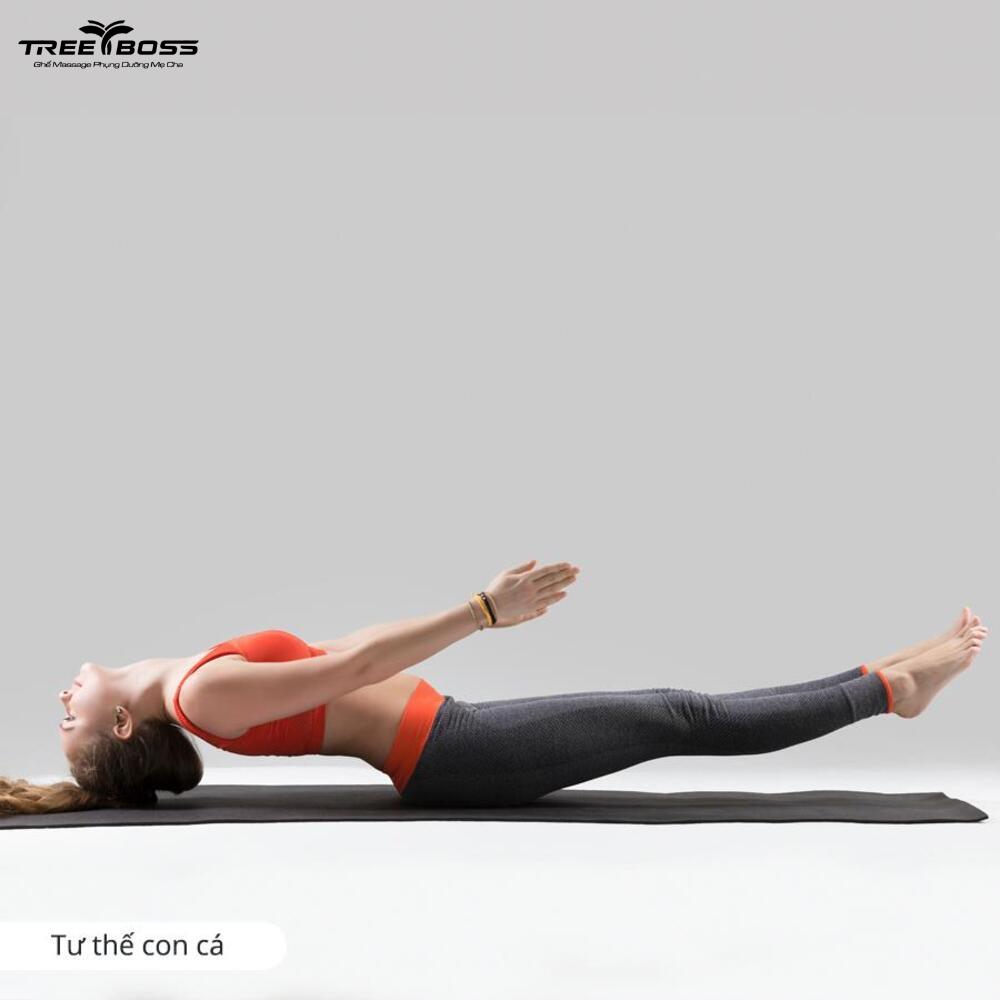 bài tập yoga trị thoái hóa đốt sống cổ