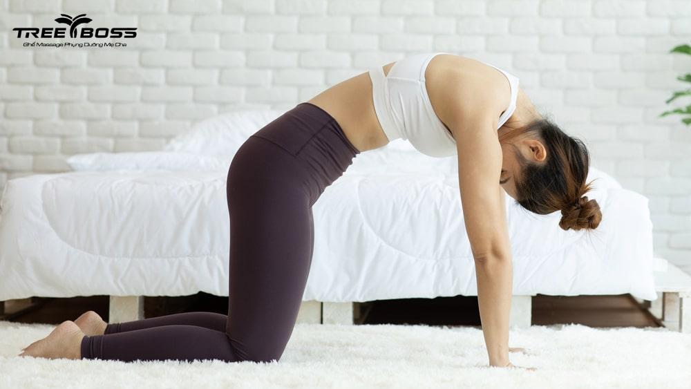 bài tập yoga thoái hóa đốt sống cổ