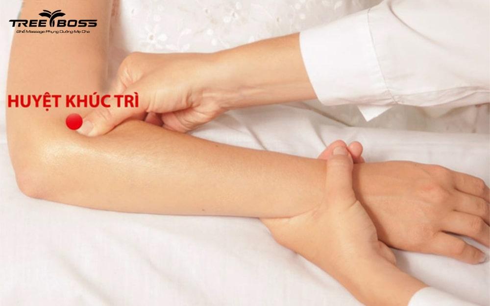 bấm huyệt làm giảm huyết áp