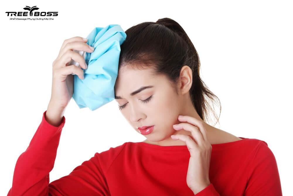 cách giảm đau đầu