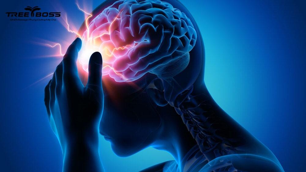 cách làm máu lưu thông lên não