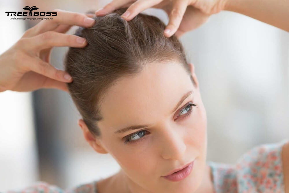 cách massage đầu