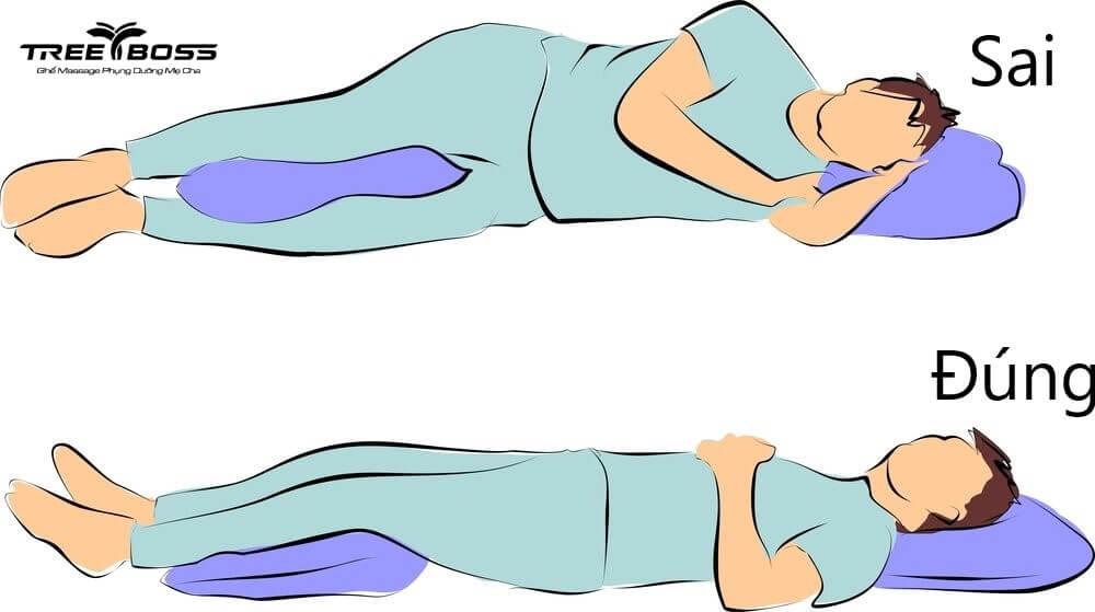 chữa đau cổ khi ngủ dậy