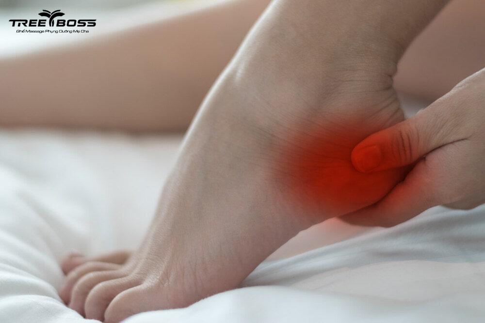 đau nhức gót chân