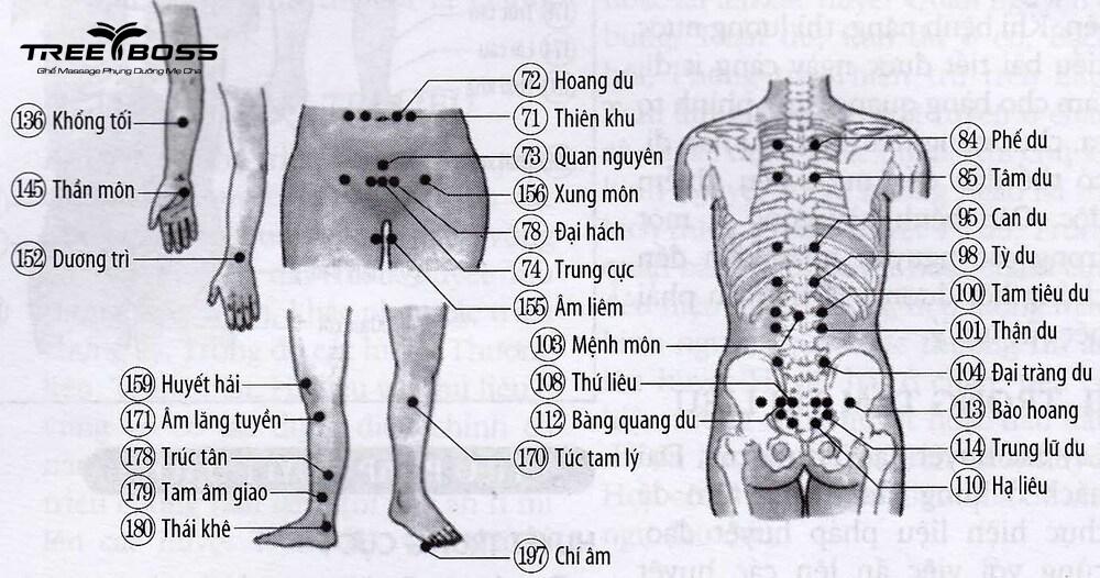 massage thần kinh tọa