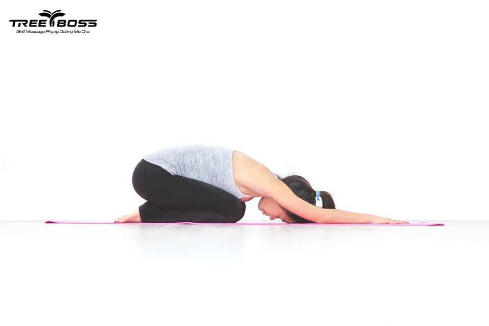 yoga chữa đau lưng