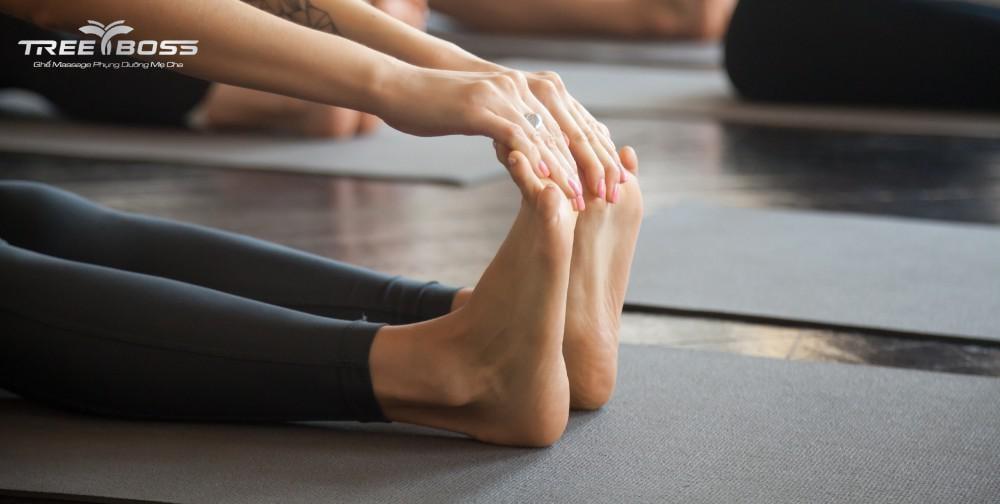 bài tập chữa đau gót chân