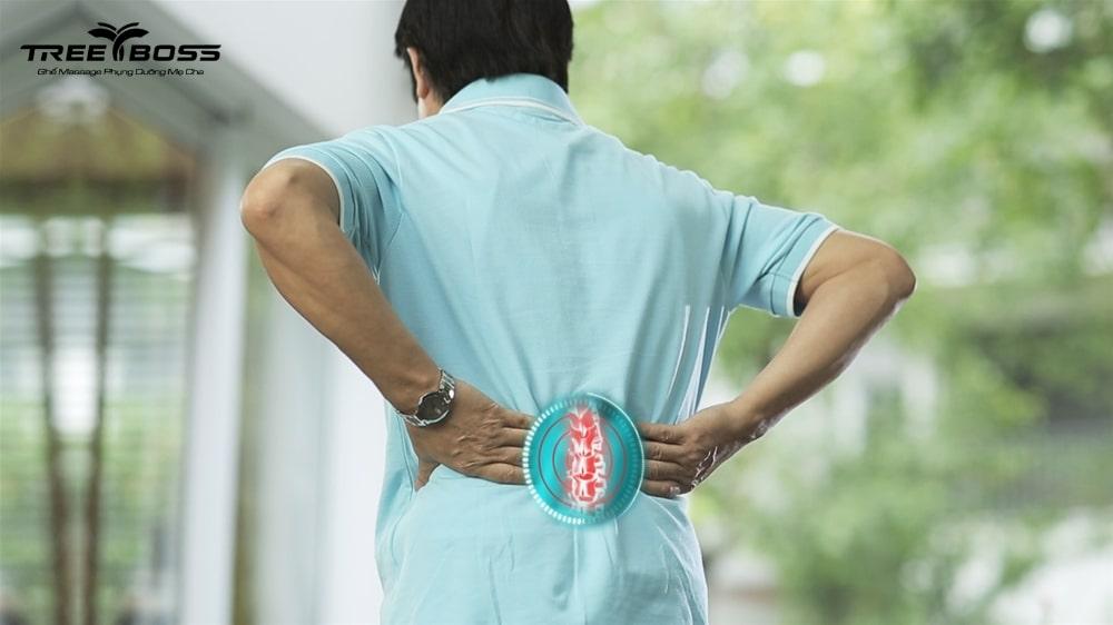 đau lưng nhức mỏi tay chân