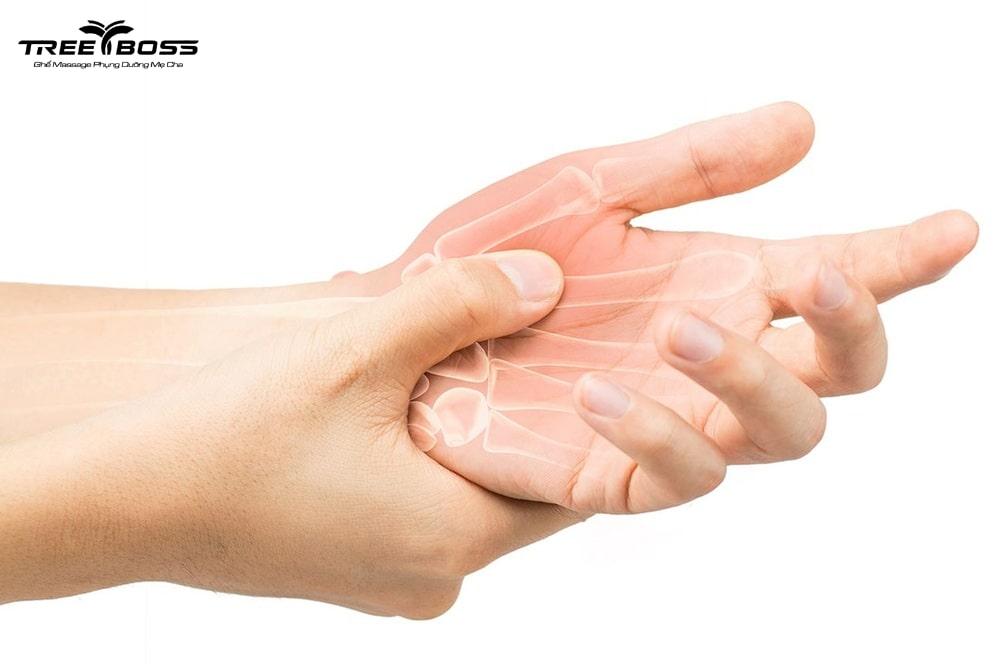 đau nhức khớp ngón tay