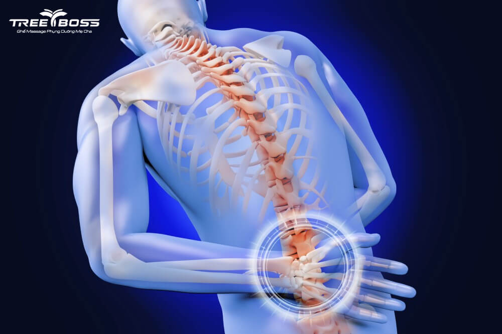 bị đau sau lưng bên trái