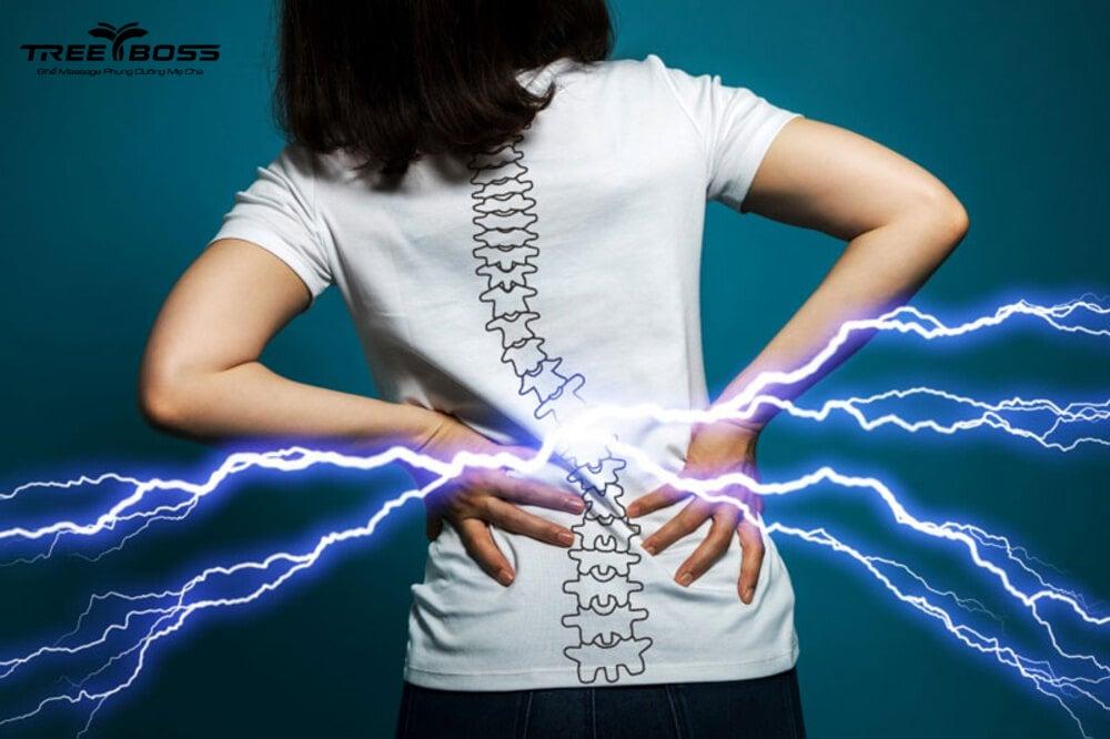Bị đau lưng dưới gần mông