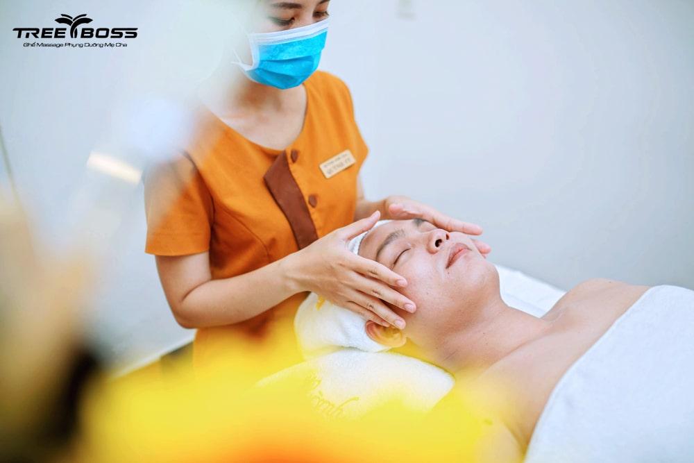 cách massage mặt nam