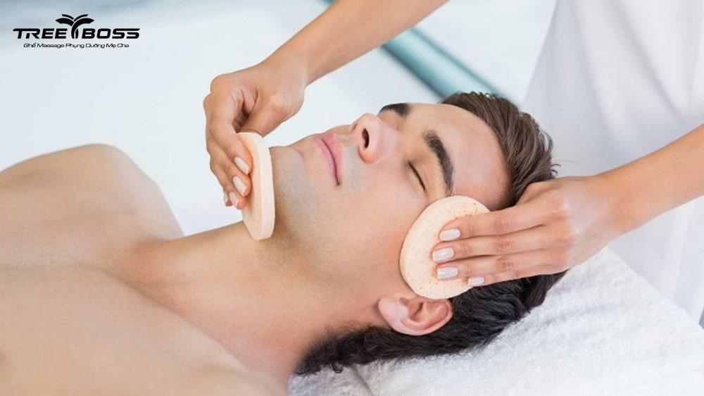 massage mặt cho nam