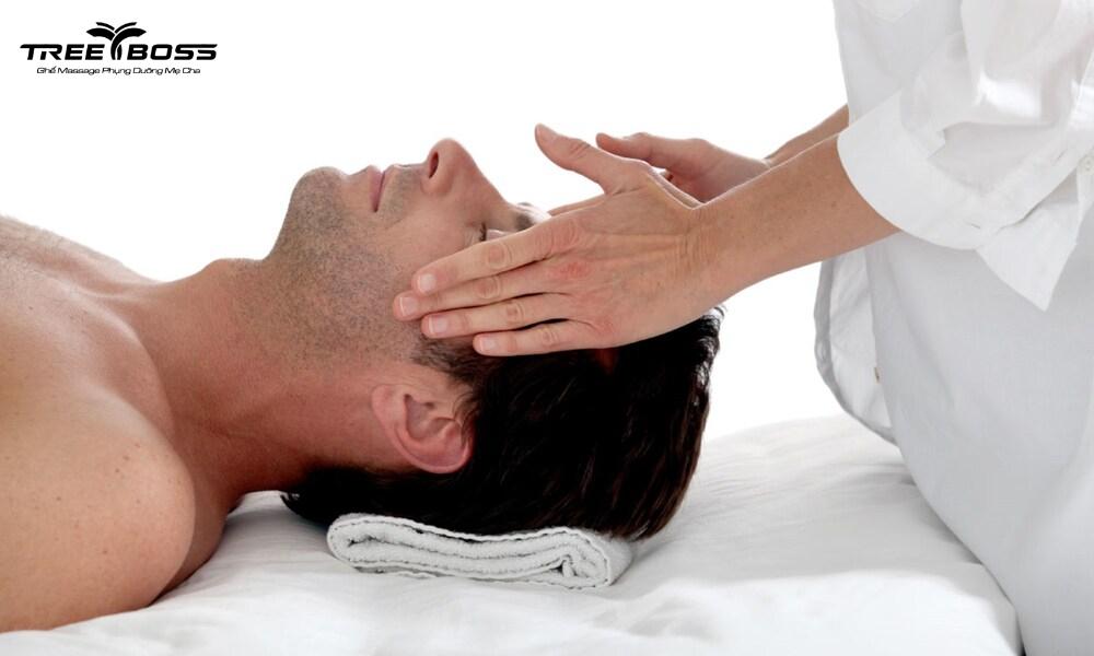 massage mặt nam