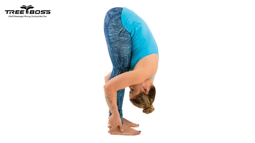 yoga trị mất ngủ đau đầu