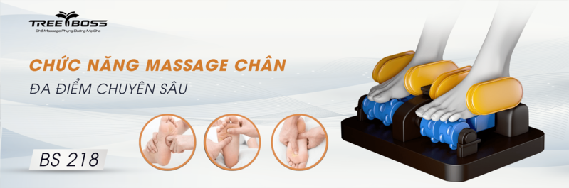 Con lăn ghế massage