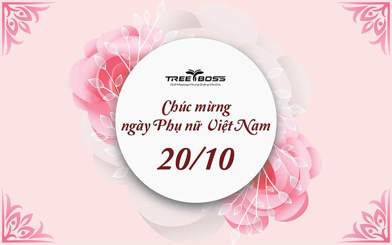 Tree Boss ưu đãi đặc biệt tôn vinh vẻ đẹp và sức khỏe Phụ nữ Việt 2021